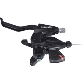 Shimano ST-M310 Versnellings-/Remhendel 3-speed links, black